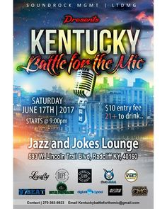 """""""#IndustryEvents: Don't miss The Kentucky Battle For The Mic Music Showcases & Conference  on Saturday, June 17, 2017 - 9:00pm  Check MakinItMag.com for full details plus a listing of top #Openmics #Showcases #BeatBattles, #Conferences and Major Industry #Events"""" by @makinitmag. #이벤트 #show #parties #entertainment #catering #travelling #traveler #tourism #travelingram #igtravel #europe #traveller #travelblog #tourist #travelblogger #traveltheworld #roadtrip #instatraveling #instapassport…"""
