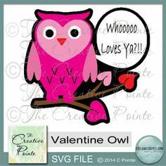 Valentines Owl Card
