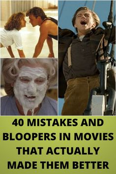 40 #MISTAKES AND #BLOOPERS IN #MOVIES THAT ACTUALLY MADE THEM #BETTER