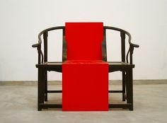 Shao Fan takes traditional Chinese furniture and essentially re-designs it in a modern context.