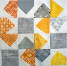 Leona's Quilting Adventure: Bee Blocks in the Mail!