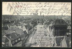 old postcard: AK Augsburg, Blick auf die Stadt