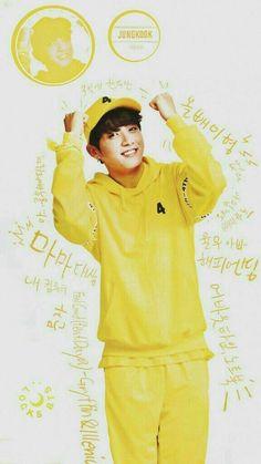 Jungkook x Yellow Bts Jungkook, Taehyung, Namjoon, Hoseok, Foto Bts, Bts Photo, Btob, Bts Boyfriend, Rapper