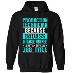 PRODUCTION TECHNICIAN T-SHIRTS, HOODIES (38.99$ ==► Shopping Now) #production #technician #shirts #tshirt #hoodie #sweatshirt #giftidea