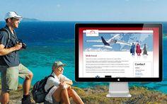 Site vitrine : Agence spécialisée dans l'organisation de voyages d´affaires www.btob.travel/