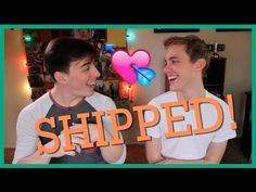 So, many of you out there ship me and the musically gifted Jon Cozart, but before you do that with real people, you first need to know if they're comfortable. Jon Cozart, Thomas Sanders, I Ship It, Sander Sides, Dream Boy, Real People, Youtubers, Cinnamon Rolls, Music