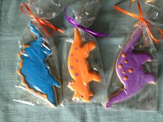 Dinosaur Cookies by Carmen