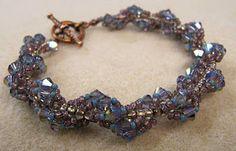 Crystal Spiral Bracelet