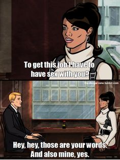 You better call Kenny Loggins, because you're in the danger zone. Archer Tv Show, Archer Fx, Archer Funny, Archer Quotes, Sterling Archer, Spy Shows, Kenny Loggins, Achievement Hunter, Danger Zone