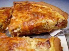 Zwiebelwähe (Swiss Onion Tart)