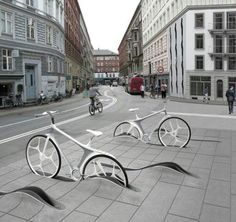 Sleek bike storage