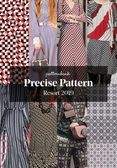 The world's leading online textile design studio for print, pattern and trend forecasting Trends 2018, Trend Forecast 2018, Spring Fashion Trends, Latest Fashion Trends, Fashion Fashion, High Fashion, Peclers Paris, Pattern Bank, Quoi Porter