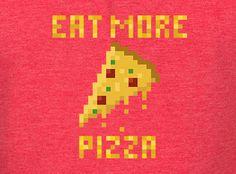 J!NX : Eat More Pizza Premium Tee