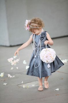 i'd have my flower girl wear this exact same thing...super cute!!!!!