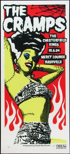 The Cramps Concert Poster