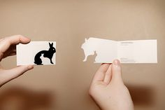 Like the idea of having to open the business card - interactive