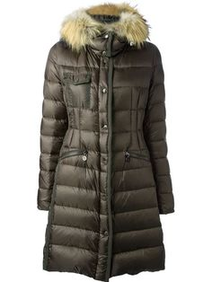 Moncler 'HERMIFUR' PADDED COAT