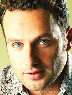 Andy Lincoln, Rick Grimes, The Walking Dead, Blue Eyes, Beautiful Men, Actors, Character, Cute Guys, Walking Dead