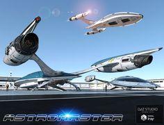 Star Wars Spaceships, Sci Fi Spaceships, Spaceship Art, Spaceship Design, Concept Ships, Concept Art, Star Trek Models, Starfleet Ships, Space Fighter