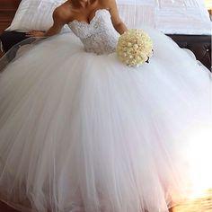 Corset ball gown