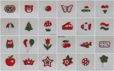 Kindergarten signals in Hungarian national colors (noja design) Bird Crafts, Diy And Crafts, Crafts For Kids, Baba Marta, Republic Day, Independence Day, Kindergarten, Origami, Cross Stitch