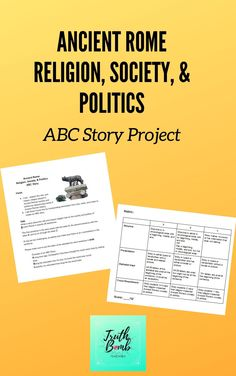 A fun and creative way for your students to show what they know about Ancient Roman religion, society, & politics and how it's all connected.