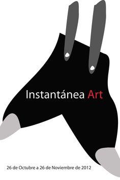 "Diseño de cartel para la exposición de arte ""Instantánea ART"" (Bernardo Guerra)"