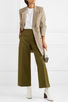 Joseph | Pantalon large en laine mélangée Ferrandi | NET-A-PORTER.COM