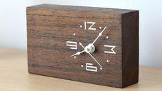 WoodTime: Simple, modern & minimal bare wood clocks. project video thumbnail