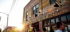"""McNellie's Irish Pub"" downtown, Tulsa // Photo Credit: Tim Thumb // 3 dollar burger special every Wednesday night!"