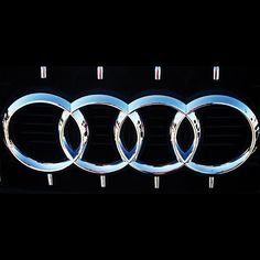 Audi Rings--perhaps an A6