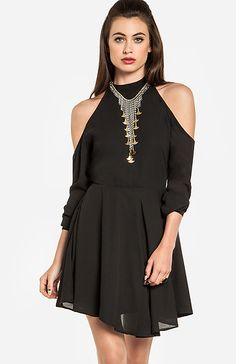 Glamorous Cutout Shoulder Dress | DAILYLOOK