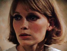 Mia as Rosemary. 1968. LOVE.