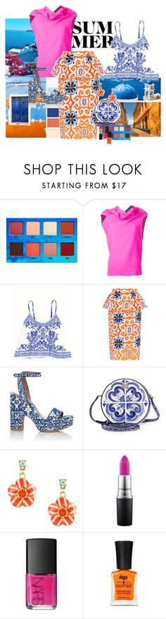 """""""The last days of summer..."""" by claire86-c on Polyvore featuring moda, Lime Crime, Tata Naka, Tabitha Simmons, Dolce&Gabbana, Betsey Johnson, MAC Cosmetics e NARS Cosmetics"""