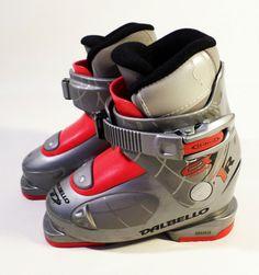 Youth Toddler Size 10-10.5 Mondo 16.5 Italian DALBELLO CX Equipe R1 Ski Boots