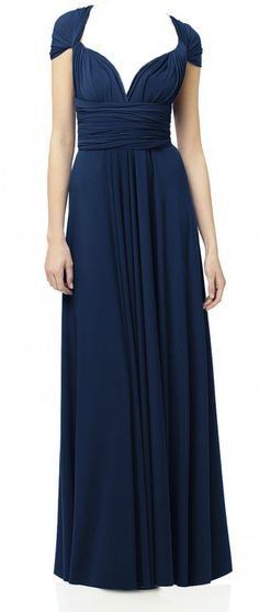 Sugar Bits - Maxi Convertible - Sailor Navy Blue, $75.00 (http://www.convertiblewrapdress.com/maxi-convertible-sailor-navy-blue/)