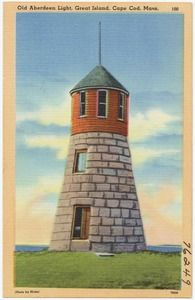 Old Aberdeen Light, Great Island, Cape Cod, Mass.