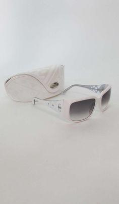 Pucci white  sunglasses & case image 5