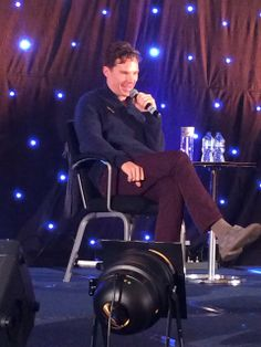Benedict Cumberbatch at Starfury's Elementary Convention