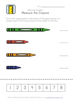 math worksheet : 1000 images about preschool  school rules  routines on  : Measuring Worksheets For Kindergarten