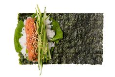 Spicy tuna nori-temaki sushi available at Gonpachi Nori-Temaki Harajuku