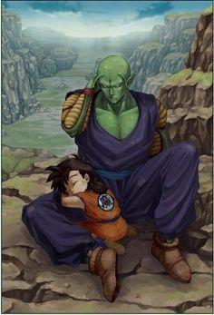 #Piccolo and #Gohan #anime #dbz