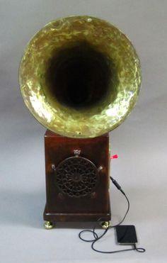 homemade amp w/ tuba bell