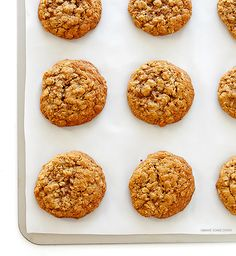 Whole-Wheat Oatmeal Cookies from Gimme Some Oven