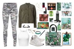 """""""Jungle Mumble"""" by marsophie ❤ liked on Polyvore featuring Casetify, Lancôme, NARS Cosmetics, Alexis Bittar, Urban Outfitters, Christian Dior, Louis Vuitton, Ted Baker, Fendi and Anuschka"""