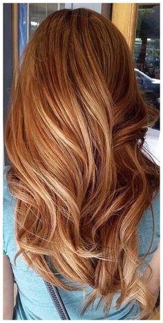 auburn hair color with highlights summer redheads