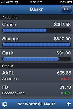 Bankr Personal Finance