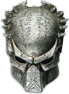 I like this mask for its punkish exterior with the spikes and it's unusual patterns on the forehead