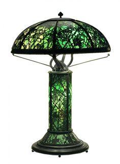 Rivere Art Glass Table Lamp