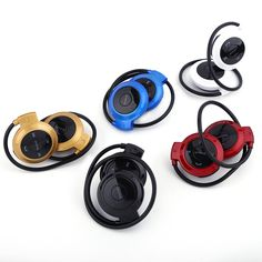 Universial Wireless Bluetooth Headphone Sports Stereo Headset Headphone Earphone for Samsung iPhone